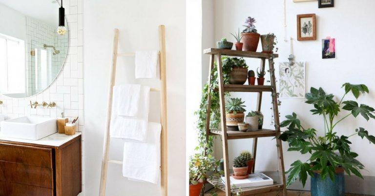 Decoratie Ladder Badkamer : Zondag wooninspiratie de decoratie ladder