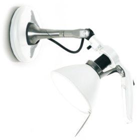 Luceplan Fortebraccio wandlamp wit