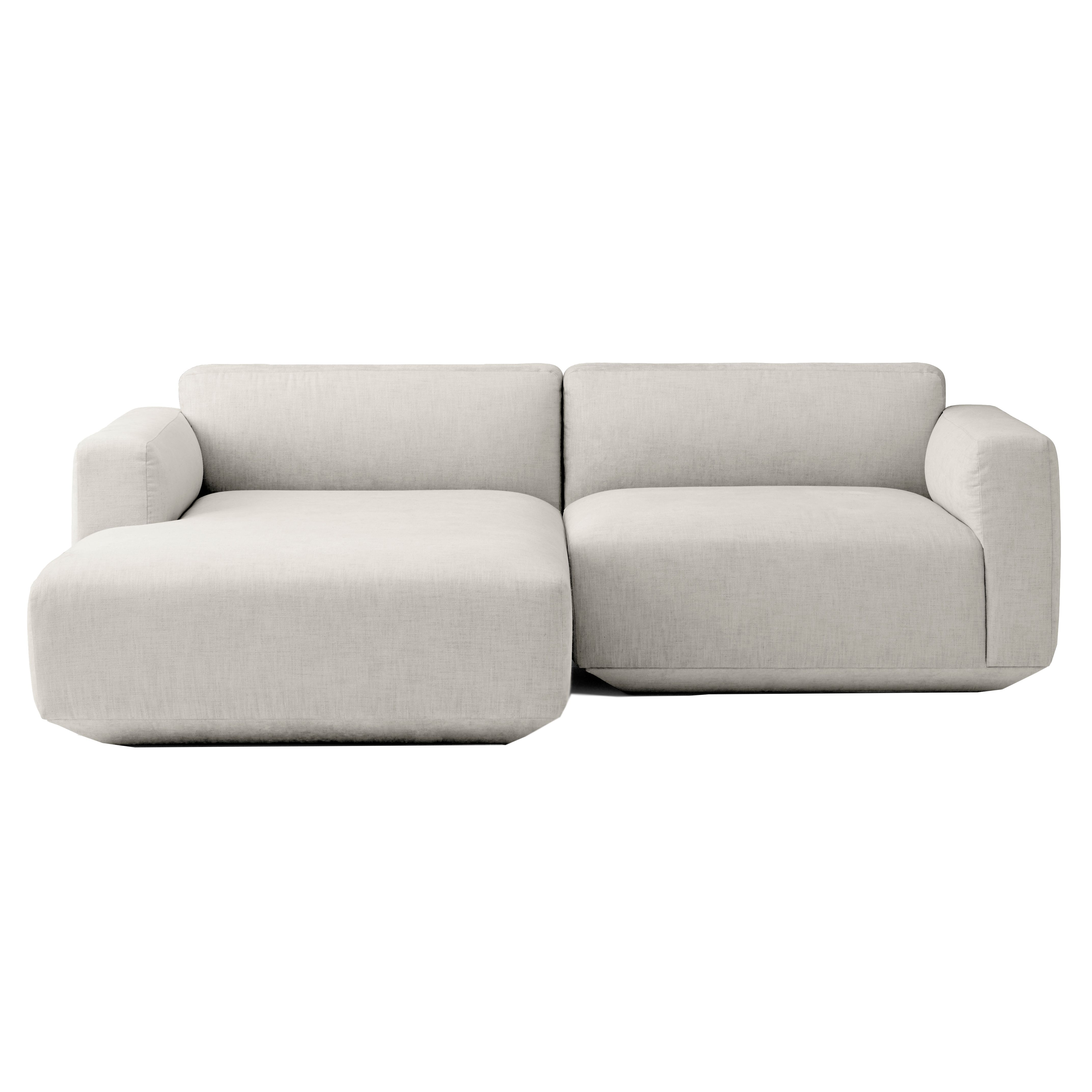 Bank Met Chaise Longue.Tradition Develius Bank 2 Zits Met Chaise Longue Links