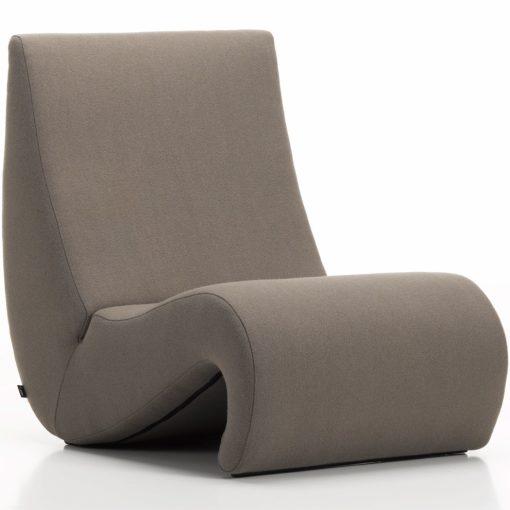 Vitra Amoebe fauteuil truffel