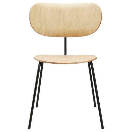 Wehlers Alternative stoel gelakt eiken
