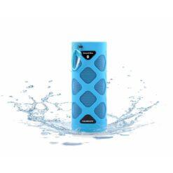 Aquasound bluetooth sound box blauw