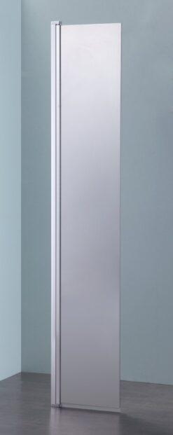Blinq Matti draaibare zijwand 35cm voor inloopdouche chroom spiegelglas