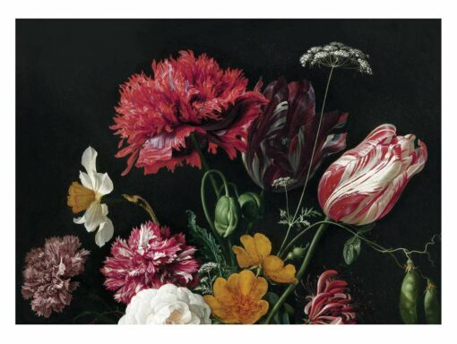 KEK Amsterdam Golden Age Flowers II behang (8 banen)