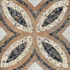 Paul en Co Terrazzo tegel 25 x 25 cm Casale Firenze cotto (12 stuks)