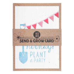 Postkaart Plant a Party