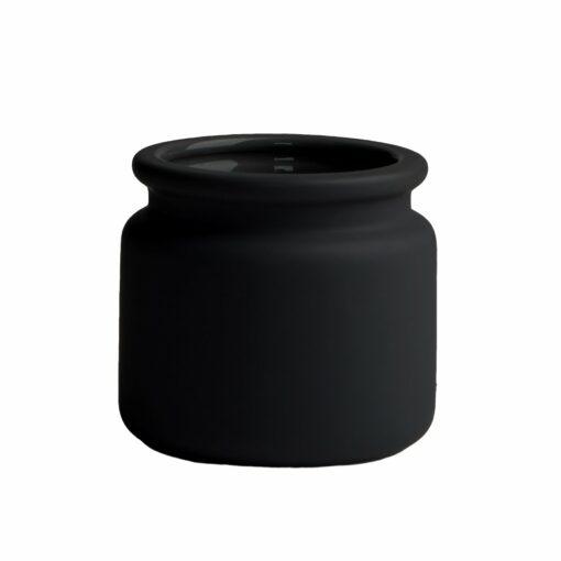 Pure bloempot zwart mini