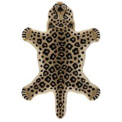 Vloerkleed luipaard klein
