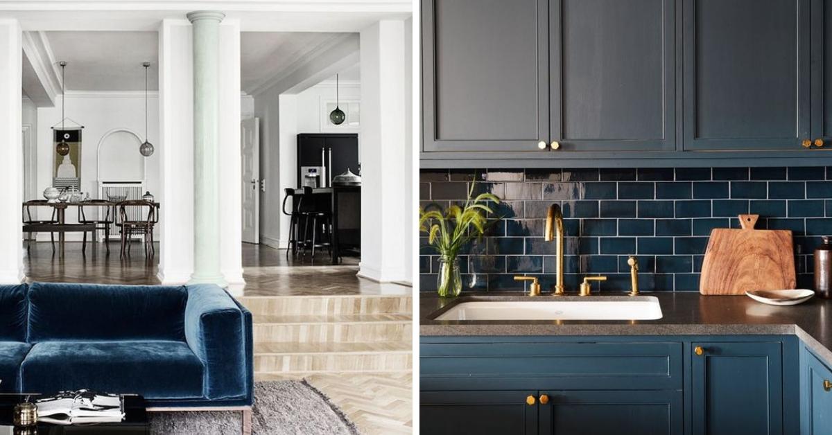 7x Klassiek Interieur : Blauw in je interieur rustgevend en luxe