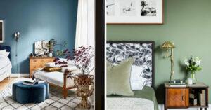 Slaapkamer kleuren inspiratie voorbeelden