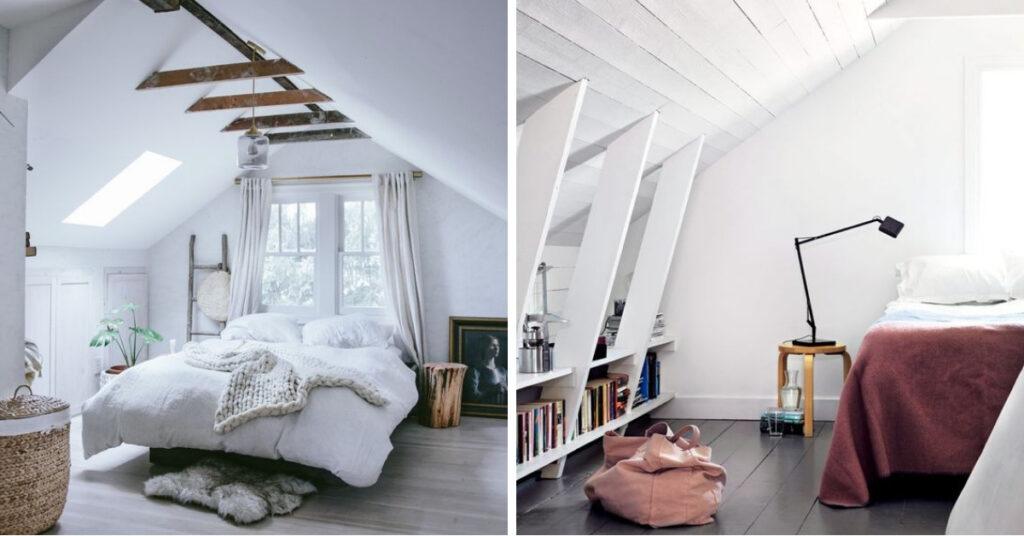 Schuine Wand Decoratie.De 7 Beste Trucs Voor Een Slaapkamer Met Een Schuin Dak