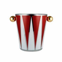 Circus wijnkoeler Rood-wit-goud