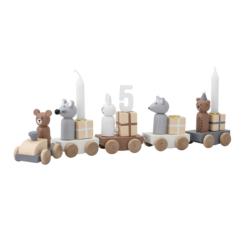 Verjaardag speelgoed trein multi