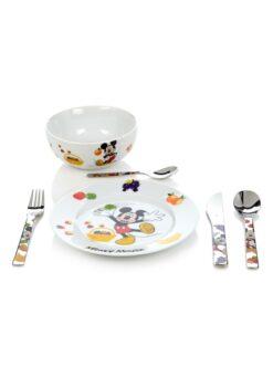 WMF Micky Mouse kinderservies- en bestekset 6-delig