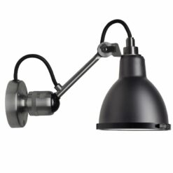 DCW éditions Lampe Gras N304 Classic Outdoor Seaside wandlamp bare zwart