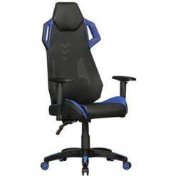 24Designs ARacer Bureaustoel & Gamestoel PU/Mesh - Zwart/Blauw