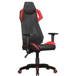 24Designs ARacer Bureaustoel & Gamestoel PU/Mesh - Zwart/Rood