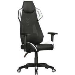 24Designs ARacer Bureaustoel & Gamestoel PU/Mesh - Zwart/Wit