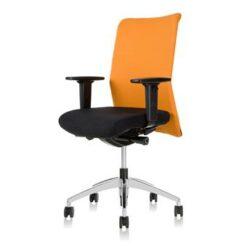 24Designs Bureaustoel Barcelona - Oranje