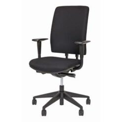 24Designs Bureaustoel - Business Brisbane - Stof - Zwart