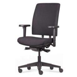 24Designs Bureaustoel Business Kingston NPR1813 - Stof Zwart