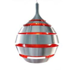 24Designs Hanglamp Alpha - Rood