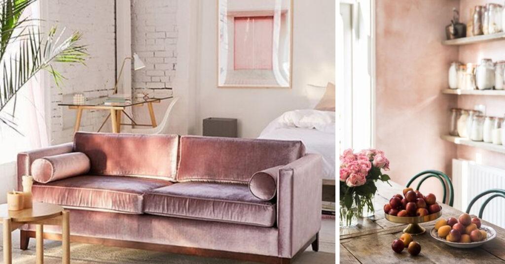 Roze woonaccessoires roze interieur