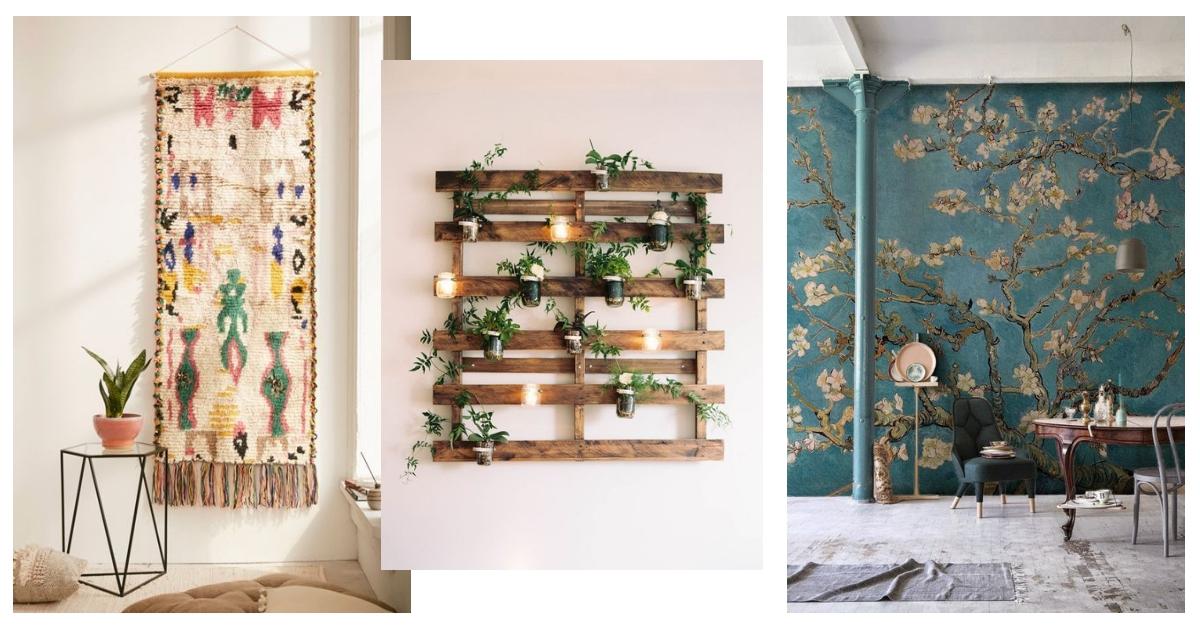 12 Wanddecoratie Ideeen Alternatieven Voor Aan De Muur