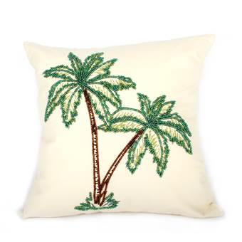 À la Double Palm Tree Kussen