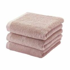 Aquanova Handdoek set/3 LONDON kleur dusty pink-87 (55x100cm)