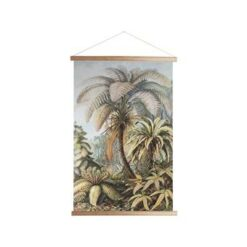 Art for the Home - Textiel Poster - Jungle - 70x100 cm