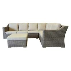AVH-Collectie Tenerife hoek loungeset 3-delig met hocker