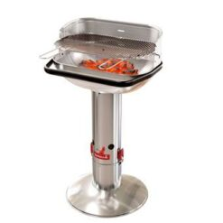 Barbecook Loewy 55 RVS Houtskoolbarbecue