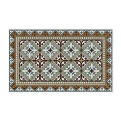 Beija Flor Tile Flooring Flor de Lis Vloerkleed 70 x 120 cm