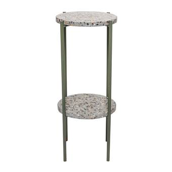 Bloomingville Earth Concrete Green Bijzettafel