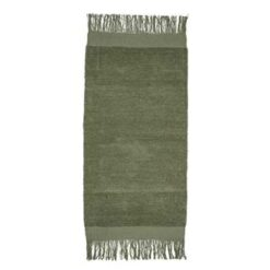 Bloomingville Green Vloerkleed 135 x 60 cm