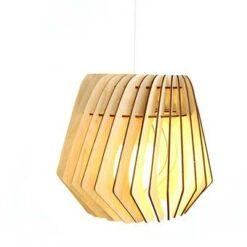 Bomerango Spin lampenkap - Hout - Medium Ø 36 cm