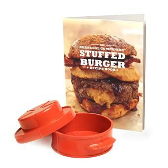 Charcoal Companion Kookboek met Hamburgerpers