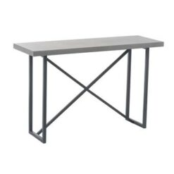 Duverger Industry Grey - Sidetable - rechthoekig - grijs - hout -