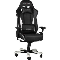 DXRacer Gamestoel - King-Series - PU Leder - Zwart/Wit