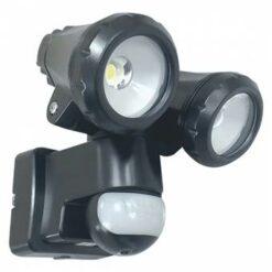 ELRO LT3510P 2-Kops LED Buitenlamp met Bewegingssensor - 2x10W