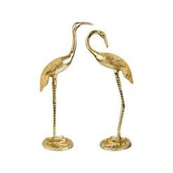 &k amsterdam Crane Bird Beeld set van 2