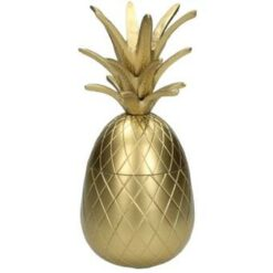 Kersten Ornament Ananas 25x12x12cm goud