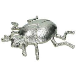 Kersten Ornament ladybug zilver