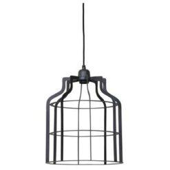 Light & Living Hanglamp ADINE draad - Industrieel Grijs - L
