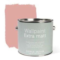 Little Dutch - Muurverf Mat - Vintage Pink - Roze - 2