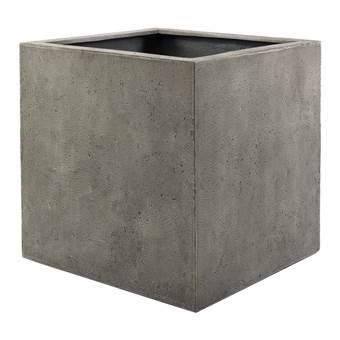 Luca Lifestyle Grigio Cube Bloempot S