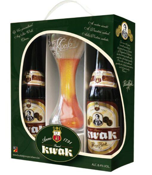 Pauwel Kwak Bierpakket 2 x 33 cl + Glas