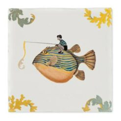 StoryTiles Catch Of The Day Wandtegel 20 x 20 cm