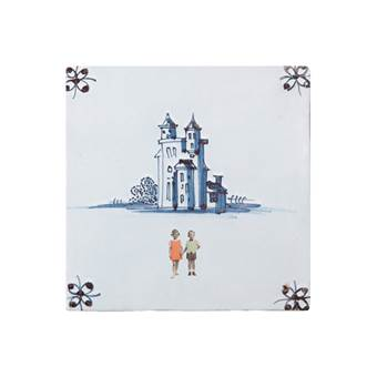 StoryTiles Happily Ever After Wandtegel 13 x 13 cm